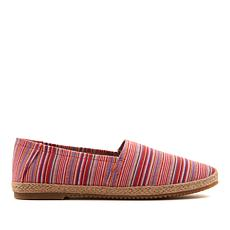 Aetrex® Kylie Striped Canvas Slip-On Shoe