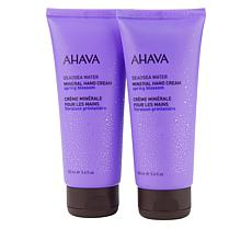 AHAVA 2-pack Spring Blossom Mineral Hand Cream