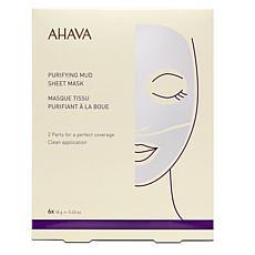 AHAVA 6-pack Purifying Mud Sheet Mask
