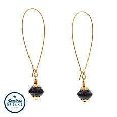"Akola ""One Hope"" Paper Bead Drop Earrings"