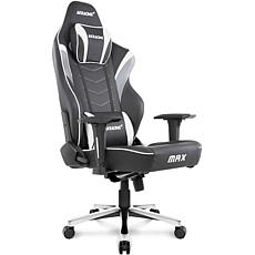 AKRacing Masters Series Max Gaming Chair - Black/Grey/White