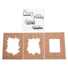 Aladine Holiday-Themed Doodler Stamp Card Making Kit