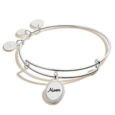 Alex and Ani Because I Love You Mom Charm Bangle