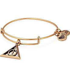 Alex and Ani Harry Potter Deathly Hallows Charm Bangle Bracelet