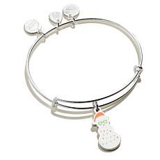 Alex and Ani Holiday Snowman Color Infusion Bangle