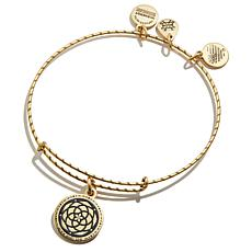 Alex and Ani New Beginnings Embossed Paint Charm Bangle Bracelet