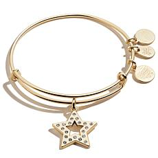 Alex and Ani Pavé Star Expandable Bangle