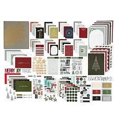 Ali Edwards December Daily® Album with Classic Mega Paper Kit
