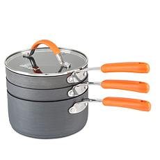 Allrecipes™ 4-piece Stackable Sauce Pan Set