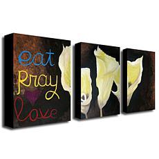"Amanda Rea ""Eat Pray Love"" Giclée-Print Set"