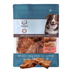 Amazing Dog Treats  Lamb Lung Flats 12 oz