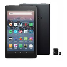 "Amazon Fire HD 8"" 16GB Alexa-Enabled Tablet with 32GB SD Card"