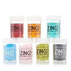American Crafts Zing! 7pc Embossing Powder Set