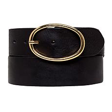 Amsterdam Heritage Elsa Oval Ring Leather Belt