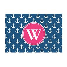 Anchors Away Personalized Doormat