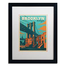 "Anderson Design Group ""Brooklyn"" Framed Art"