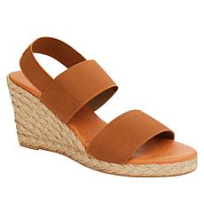 André Assous Allison Stretch Espadrille Wedge Sandal