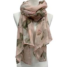 Anna Cai Faded Rose Scarf
