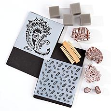 Anna Griffin® 13-piece Block Stamp and Tool Kit