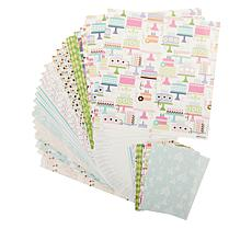 Anna Griffin® Birthday Cardstock 72-piece Collection