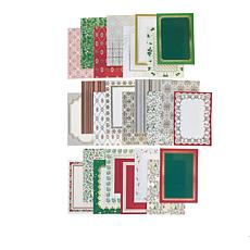 Anna Griffin® Christmas Pattern Foil Card 50-pack