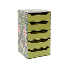 Anna Griffin® Craft Room 5 Drawer Storage Tower