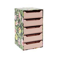Anna Griffin® Craft Room 5-Drawer Storage Tower