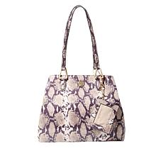 Anne Klein A Hinge 4-Poster Tote