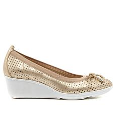 Anne Klein Sport Carissa Slip-on Wedge Pump