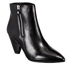 Anne Klein Yavin Leather Dress Bootie