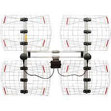 Antennas Direct Enhanced Multidirectional Bowtie Attic Outdoor Antenna