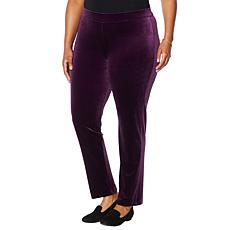 "Antthony ""All That Glitters"" Pull-On Stretch Velvet Pant"