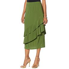 """Antthony """"Captivating Collection"""" Tiered Ruffle Skirt"""