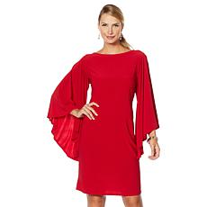 "Antthony ""Captivating Collection"" Volume Sleeve Shift Dress"
