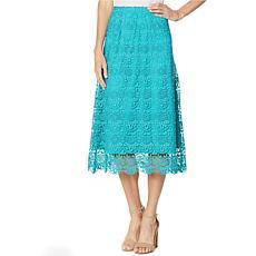 Antthony Crochet Maxi Skirt