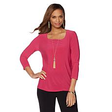 """Antthony """"Momma Nature"""" Square-Neck Top"""