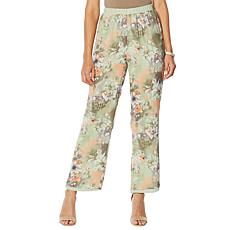 "Antthony ""Natural Flow"" Reversible Palazzo Pant"
