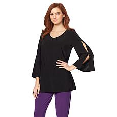 """Antthony """"Retro Wave"""" Flowy Long-Sleeve Top"""