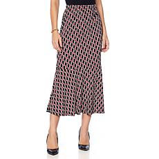 "Antthony ""Thrill Me"" Printed Flounce Skirt"