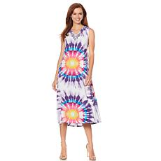 "Antthony ""Watercolors of the Sky"" Tie-Dye Tank Dress"