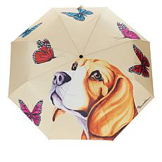 Anuschka Automatic Open-Close Printed Umbrella