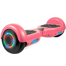 AOB Hoverboard with Bluetooth Speakers - Pink