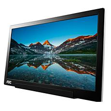 "AOC 15.6""  Full HD  Portable USB Powered  Monitor"