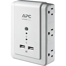 APC Wall Outlet Plug Extender, Surge Protector