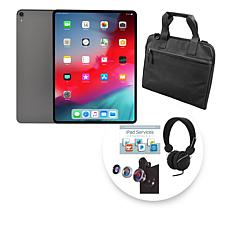 "Apple 2018 iPad Pro® 12.9"" 64GB Gray Tablet w/Sleeve and Accessories"
