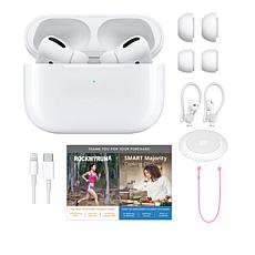 Apple AirPods Pro Earbuds with Wireless Charging Station & Case