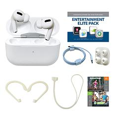 Apple AirPods Pro w/ Vouchers, Earhooks & Magnetic Neck Wrap