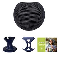 Apple HomePod Mini Bundle with Cover, Stand and Voucher - Space Gray