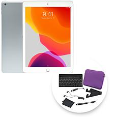 """Apple iPad® 10.2"""" 32GB Gold Tablet with Keyboard and Accessories"""
