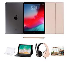 "Apple iPad® 10.2"" Space Gray 32GB w/Voucher, Keyboard and Headphones"